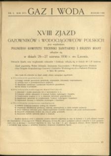 Gaz i Woda : 1936 : nr 3