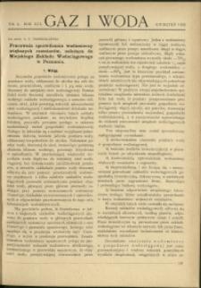 Gaz i Woda : 1936 : nr 4