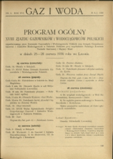 Gaz i Woda : 1936 : nr 5