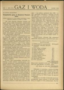 Gaz i Woda : 1936 : nr 7