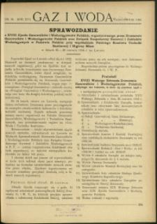 Gaz i Woda : 1936 : nr 10
