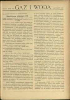 Gaz i Woda : 1936 : nr 12