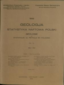 Geologja i Statystyka Naftowa Polski : 1932 : nr 5