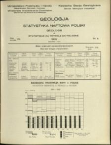 Geologja i Statystyka Naftowa Polski : 1932 : nr 6