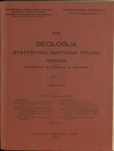 Geologja i Statystyka Naftowa Polski : 1932 : nr 7