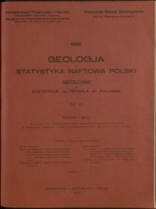 Geologja i Statystyka Naftowa Polski : 1932 : nr 8
