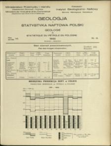 Geologja i Statystyka Naftowa Polski : 1932 : nr 12