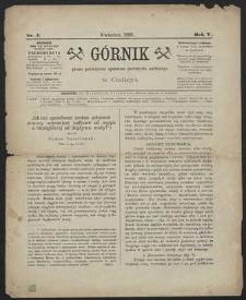 Górnik 1886 : z. 4