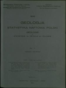 Geologja i Statystyka Naftowa Polski : 1933 : nr 11