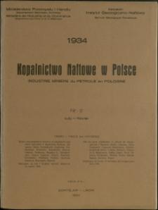Kopalnictwo Naftowe w Polsce : 1934 : nr 2