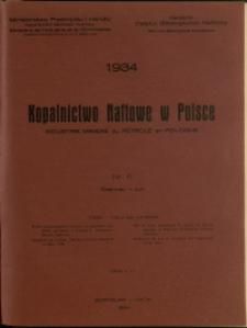 Kopalnictwo Naftowe w Polsce : 1934 : nr 6