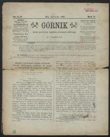 Górnik 1886 : z. 5, 6