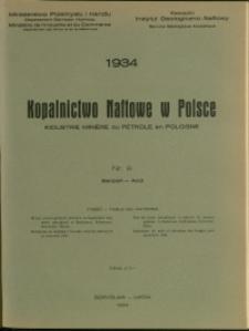 Kopalnictwo Naftowe w Polsce : 1934 : nr 8