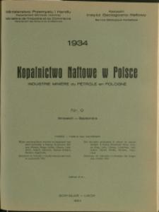 Kopalnictwo Naftowe w Polsce : 1934 : nr 9