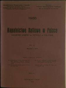 Kopalnictwo Naftowe w Polsce : 1935 : nr 8