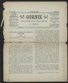 Górnik 1886 : z. 9, 10