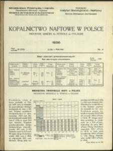 Kopalnictwo Naftowe w Polsce : 1936 : nr 2