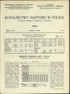 Kopalnictwo Naftowe w Polsce : 1936 : nr 3