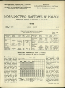 Kopalnictwo Naftowe w Polsce : 1936 : nr 7