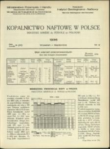 Kopalnictwo Naftowe w Polsce : 1936 : nr 9