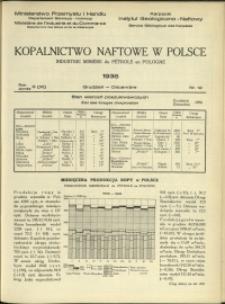 Kopalnictwo Naftowe w Polsce : 1936 : nr 12