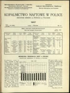 Kopalnictwo Naftowe w Polsce : 1937 : nr 2