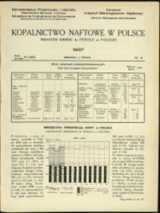 Kopalnictwo Naftowe w Polsce : 1937 : nr 3