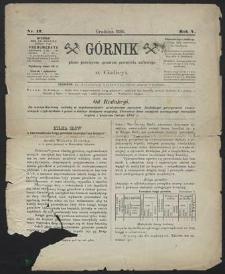 Górnik 1886 : z. 12