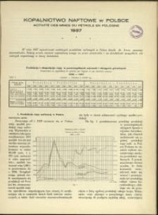 Kopalnictwo Naftowe w Polsce : 1937 : nr 12a : Sprawozdanie Roczne