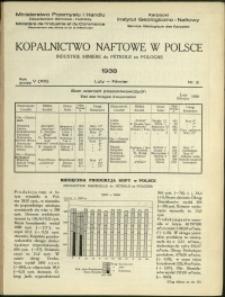 Kopalnictwo Naftowe w Polsce : 1938 : nr 2