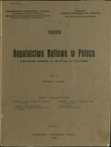 Kopalnictwo Naftowe w Polsce : 1939 : nr 1