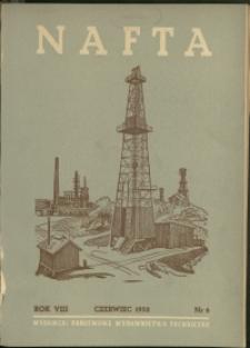 Nafta : 1952 : nr 6
