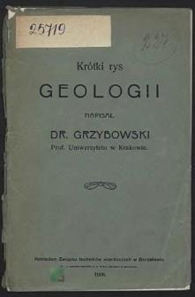 Krótki rys geologii