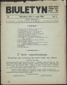 Biuletyn Związku Polskich Techników Wiertniczych i Naft.[owych] w Borysławiu 1938 : z. 5