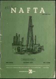 Nafta : 1983 : nr 1-2