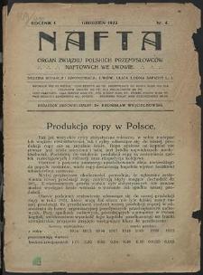 Nafta 1922 : z. 4