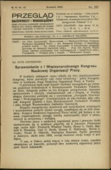 Przegląd Gazowniczy i Wodociągowy : 1924 : nr 12