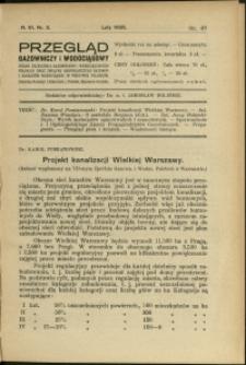 Przegląd Gazowniczy i Wodociągowy : 1926 : nr 2