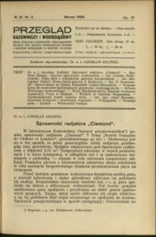 Przegląd Gazowniczy i Wodociągowy : 1926 : nr 3