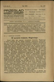 Przegląd Gazowniczy i Wodociągowy : 1926 : nr 5