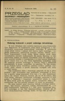 Przegląd Gazowniczy i Wodociągowy : 1926 : nr 10