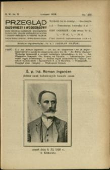 Przegląd Gazowniczy i Wodociągowy : 1926 : nr 11
