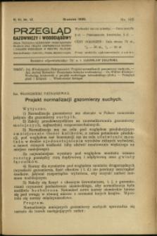 Przegląd Gazowniczy i Wodociągowy : 1926 : nr 12