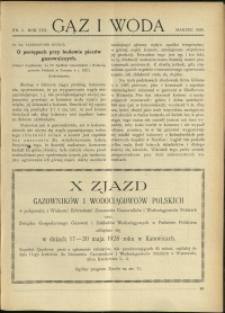 Gaz i Woda : 1928 : nr 3