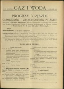 Gaz i Woda : 1928 : nr 4