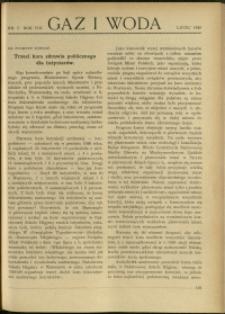 Gaz i Woda : 1928 : nr 7