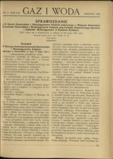Gaz i Woda : 1928 : nr 8