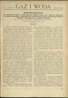 Gaz i Woda : 1928 : nr 11