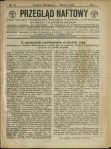 Przegląd Naftowy : 1921 : nr 2