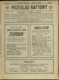 Przegląd Naftowy : 1921 : nr 3